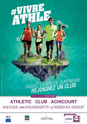 Affiche Athle Adultes